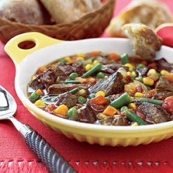 Lamb Stew with Mixed Vegetables recipe