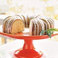 Pound Cake with Lemon-Basil Glaze recipe