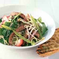 Summer Beef Salad with Cilantro recipe