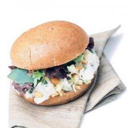 Halibut Salad Sandwiches recipe