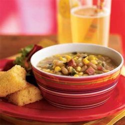 Summer Corn and White Bean Soup recipe