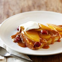 Caramel Pear and Cranberry Pudding Cake recipe