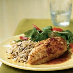 Chicken with Cranberry-Port Sauce recipe