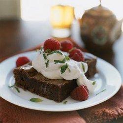 Dark Chocolate-Chunk Brownies recipe