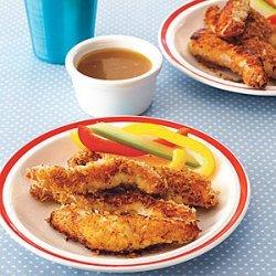 Crispy Chicken Strips with Honey Mustard recipe