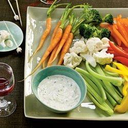 Creamy Garlic-Herb Dip recipe