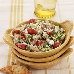 Couscous Salad with Roasted Chicken recipe