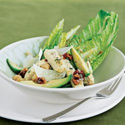 Caesar Salad with Chicken and Avocado recipe