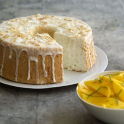 Lime-Glazed Angel Food Cake recipe