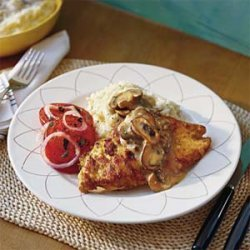 Smothered Chicken With Lemon Mashed Potatoes recipe