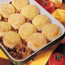 Beef 'n' Biscuit Bake recipe