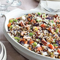 Wild Rice Stuffing with Dried Cherries and Toasted Pecans recipe