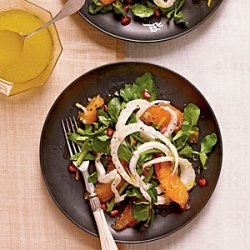 Fennel, Blood Orange, and Watercress Salad recipe