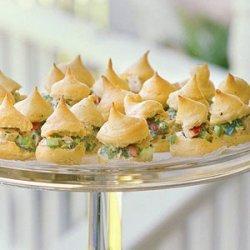 Chicken Salad Cream Puffs recipe