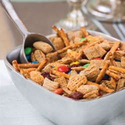 Microwave Snack Mix recipe