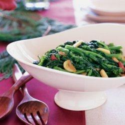 Sauteed Broccoli Rabe with Garlic and Chiles (Rape Fritte) recipe