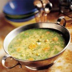 Garbanzo and Watercress Soup recipe