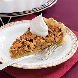 Walnut Pie with Honey Whipped Cream recipe