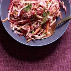 Shredded Root Salad recipe