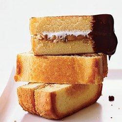 Peanut Butter Pound Cake S'mores recipe