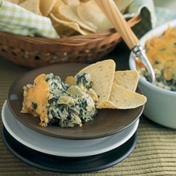 Hot Spinach-Artichoke Dip recipe