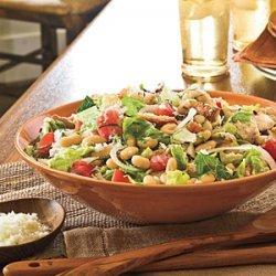 Tomato, Bean, and Bread Salad recipe