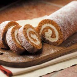 Pumpkin Cake Rolls recipe