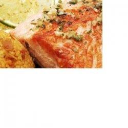 Cedar Planked Honey Lime Salmon recipe