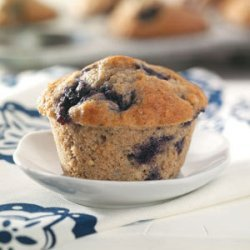 Blueberry Muffins (Quick Muffin Mix and applesauce) recipe