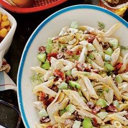 Tangy Tzatziki Pasta Salad recipe
