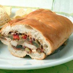 Chicken Muffuletta recipe