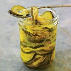 Squash Pickle Medley recipe