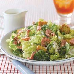 Roast Beef and Romaine Salad recipe