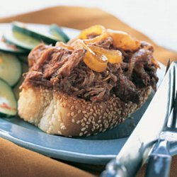 Knife and Fork Barbecued Brisket Sandwiches recipe