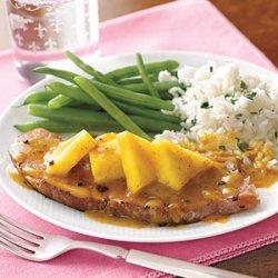 Ham Steak with Pineapple recipe