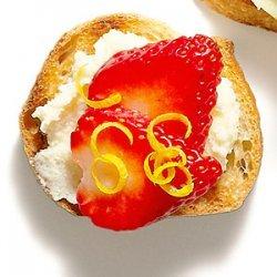 Strawberry Mascarpone Bruschetta recipe