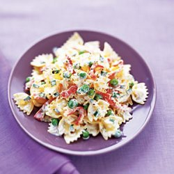 Smoked Salmon and Farfalle in Lemon Cream Sauce recipe