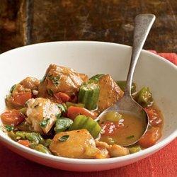 Chicken and Okra Stew recipe