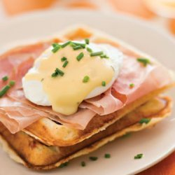 Waffles Benedict recipe