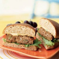 Turkey Burgers with Special Sauce recipe
