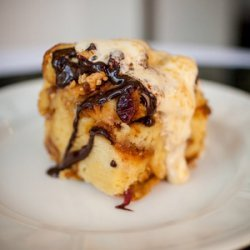 PB&J Bread Pudding recipe