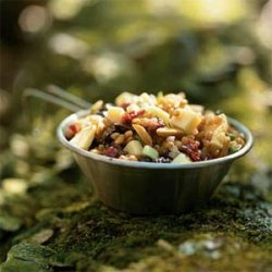 Wheat Berry Salad with Dried Fruit recipe