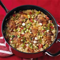 Sweet-and-Sour Chicken and Rice recipe