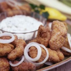 Rock's Fried Catfish with Creole Tartar Sauce recipe