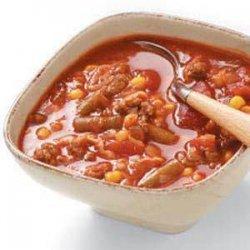 Beef Vegetable Soup (coleslaw mix) recipe