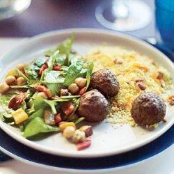 Moroccan Spiced Lamb Meatballs recipe