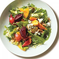 Roasted Baby Beets and Blood Orange Salad with Blue Cheese recipe