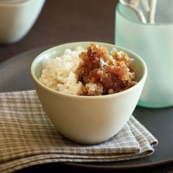 Coffee and Almond Milk Granita recipe