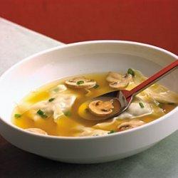 Chinese Chicken Dumpling Soup recipe