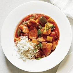 Chicken and Sausage Stew recipe